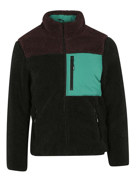 Kenzo Faux Shearling Jacket in noir