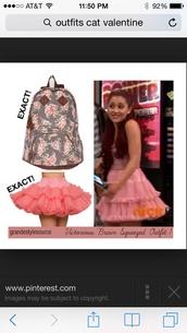 skirt,pink,ariana grande,layered,petticoat,crinoline