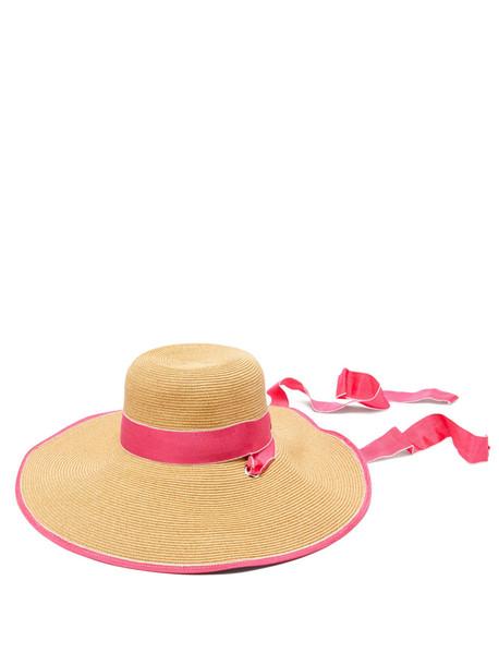 hat straw hat pink
