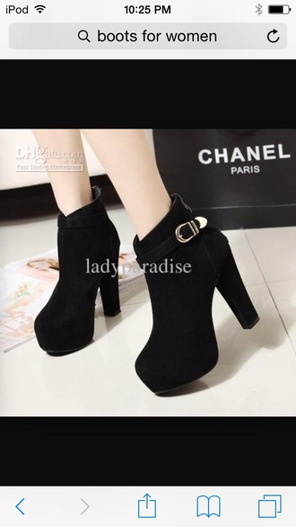 shoes gold belt buckle ankle boots black ankle boots
