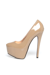 shoes,pumps,patent,nude pumps,nude,nude shoes,high heels