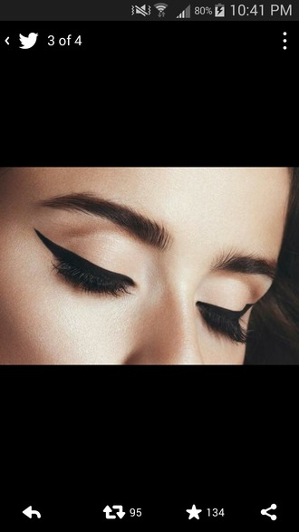 make-up eyeliner eye makeup