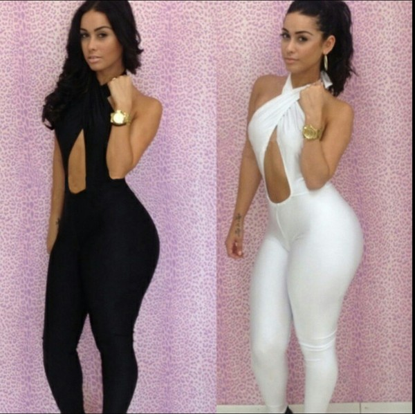 pants jumpsuit black