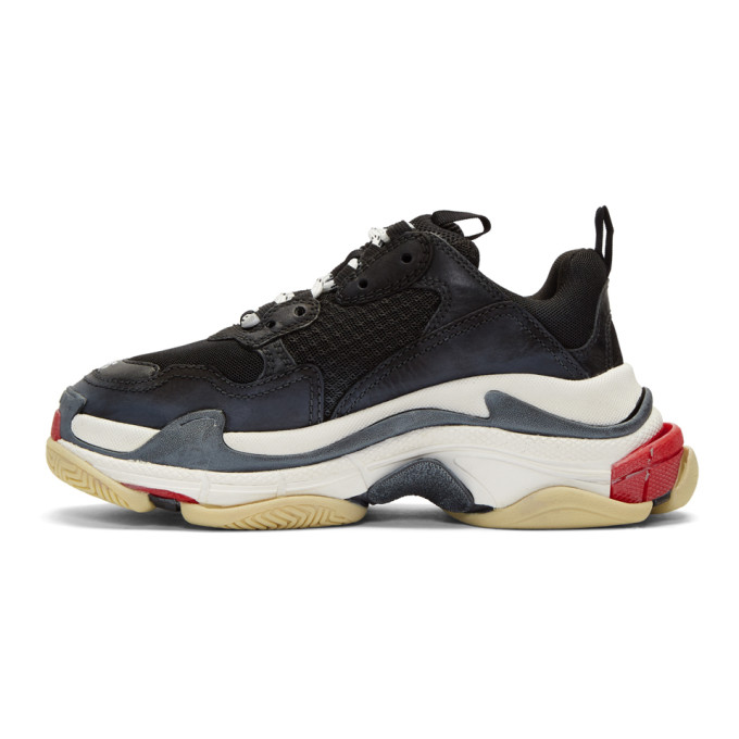 Balenciaga - Black Triple S Sneakers