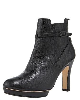 Milford platform ankle boot