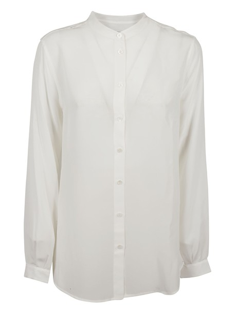 Equipment shirt white top