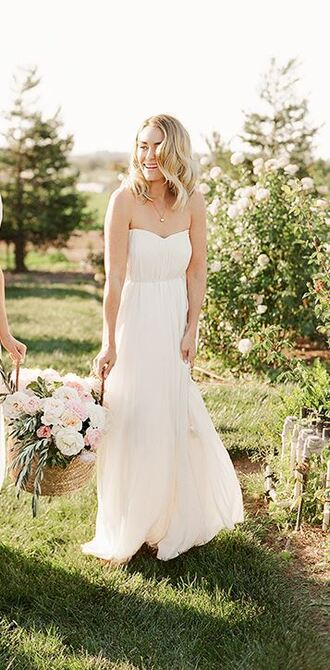 dress lauren conrad strapless bustier dress maxi dress
