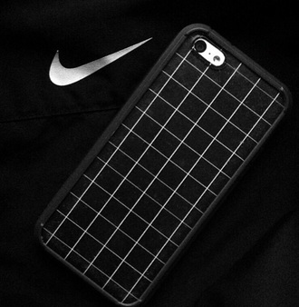 phone cover black grid grunge nike tumblr iphone cover grid nike iphone black phone case grunge phone case grunge phone cover black phone cover skirt plaid skirt grid line skirt cute cute skirt
