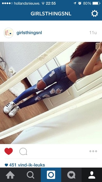 top shirt fashion style love i need it now jeans