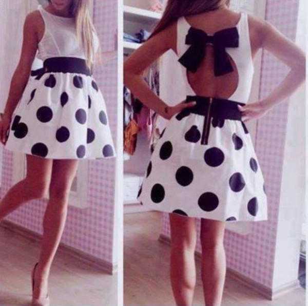 dress clothes polka dots polka dress