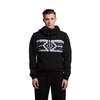 sweater hoodie hooded sweater black hoodie mens hoodie menswear ornament pattern patterned hoodie black