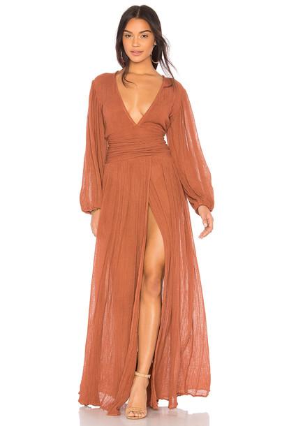 Jen's Pirate Booty dress maxi dress maxi rust