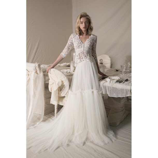 Dress Lihi Hod Mermaid Wedding Dresses Open Back Black Dress