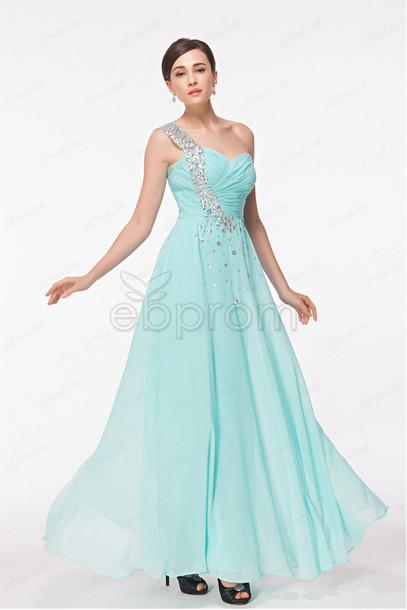 dress, long prom dress, light blue, prom dress, evening dress ...