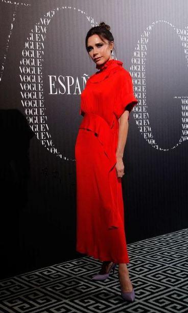 Dress Victoria Beckham Red Dress