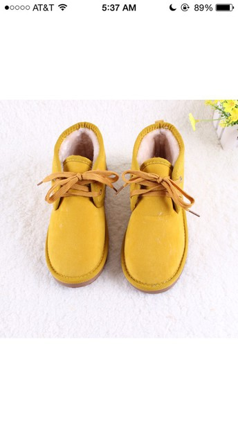 7aa1d001cb6 cute boots boot winter boots ankle boots boots warm snow boots fashion  fluffy lace up flatforms