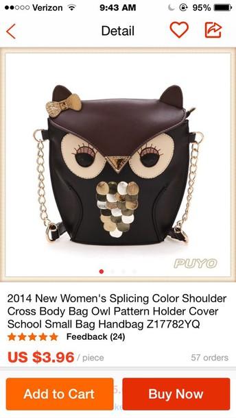 bag owls cute crossbody bag crossbody bag