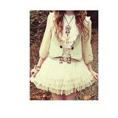 short dress,white dress,vintage,dress,jewels,belt