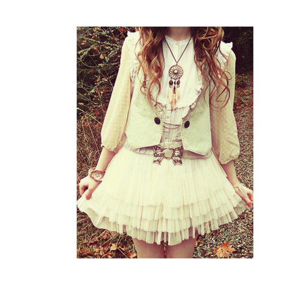 short dress white dress vintage dress jewels belt