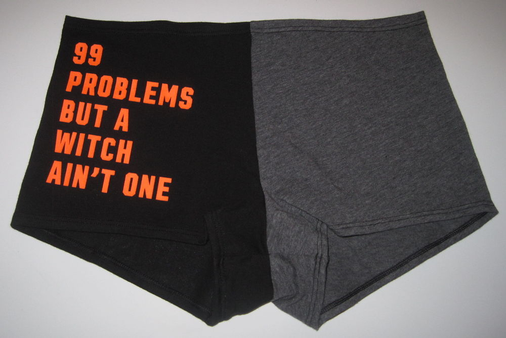 0a7458332cc nwt victorias secret pink halloween 99 problems witch lace boy short panties