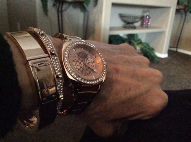 jewels rose gold coach watch michael kors bracelets