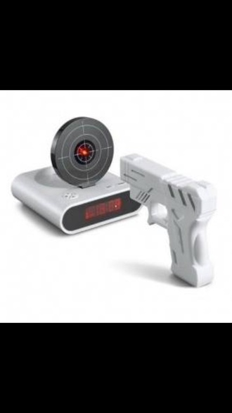 home accessory alarm clock shotgun cool spyder technology