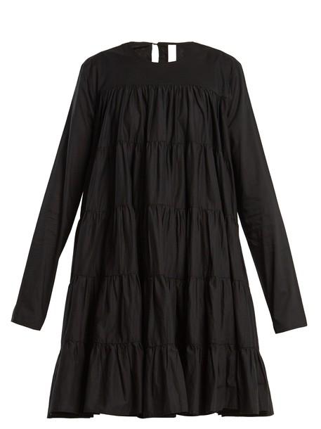 Merlette dress cotton black