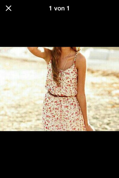 dress flowers white