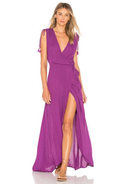 L*Space dress purple
