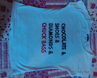 t-shirt chuck bass