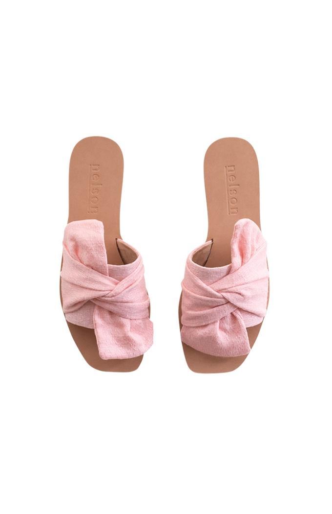 Wanda Vegan Slide - Vintage Pink