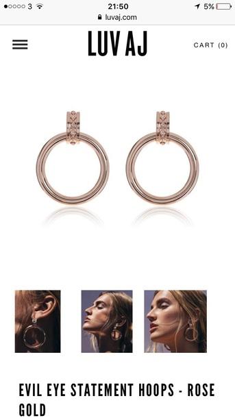 jewels earrings hoop earrings gold gold jewelry gold earrings big earrings