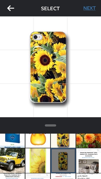 home accessory iphone case! phone cover sunflower floral phone case