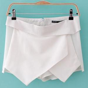 Wrap Skorts - White, Size Small on Luulla