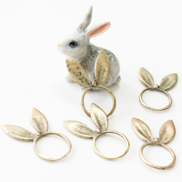 Rabbit Ears Ring | azooshop