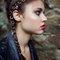 Hair rings, body jewellery, hair accessory, silver hair rings, grunge accessory, halloween hair accessory, festival hair accessory
