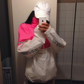 coat rain coat pink coat white coat rain jacket jacket