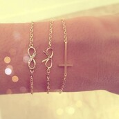 jewels,infinity,cross,gold,bracelets