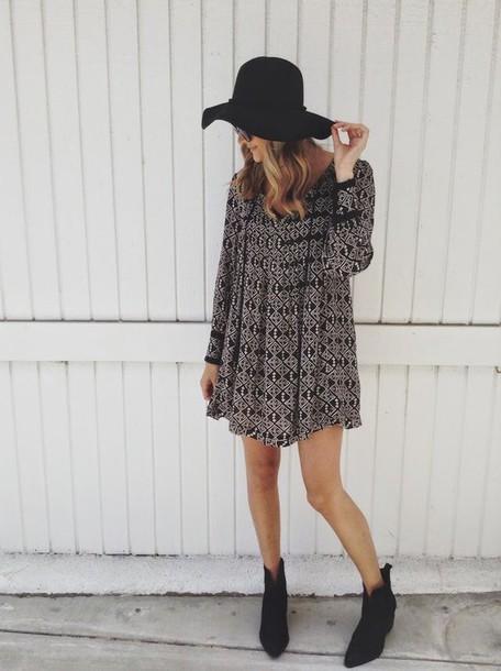 dress shoes hat printed dress