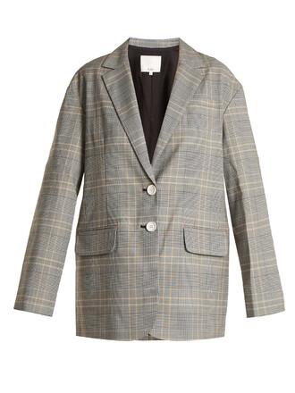blazer oversized grey jacket