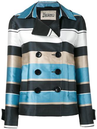 jacket women blue silk