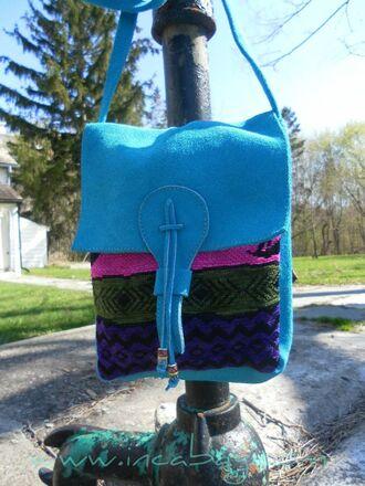 bag cotton handmade wearing fashion fluently handbag