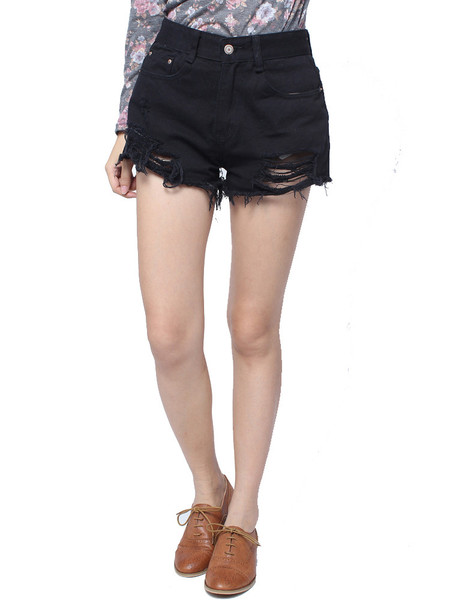 Stria Cut Off Shorts | Outfit Made