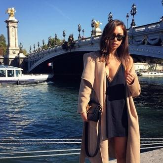 wool coat beige wool jacket