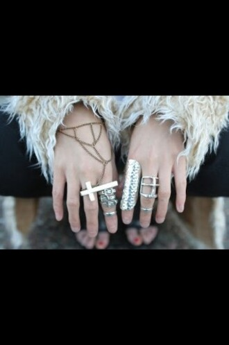 silver belt ring jewels