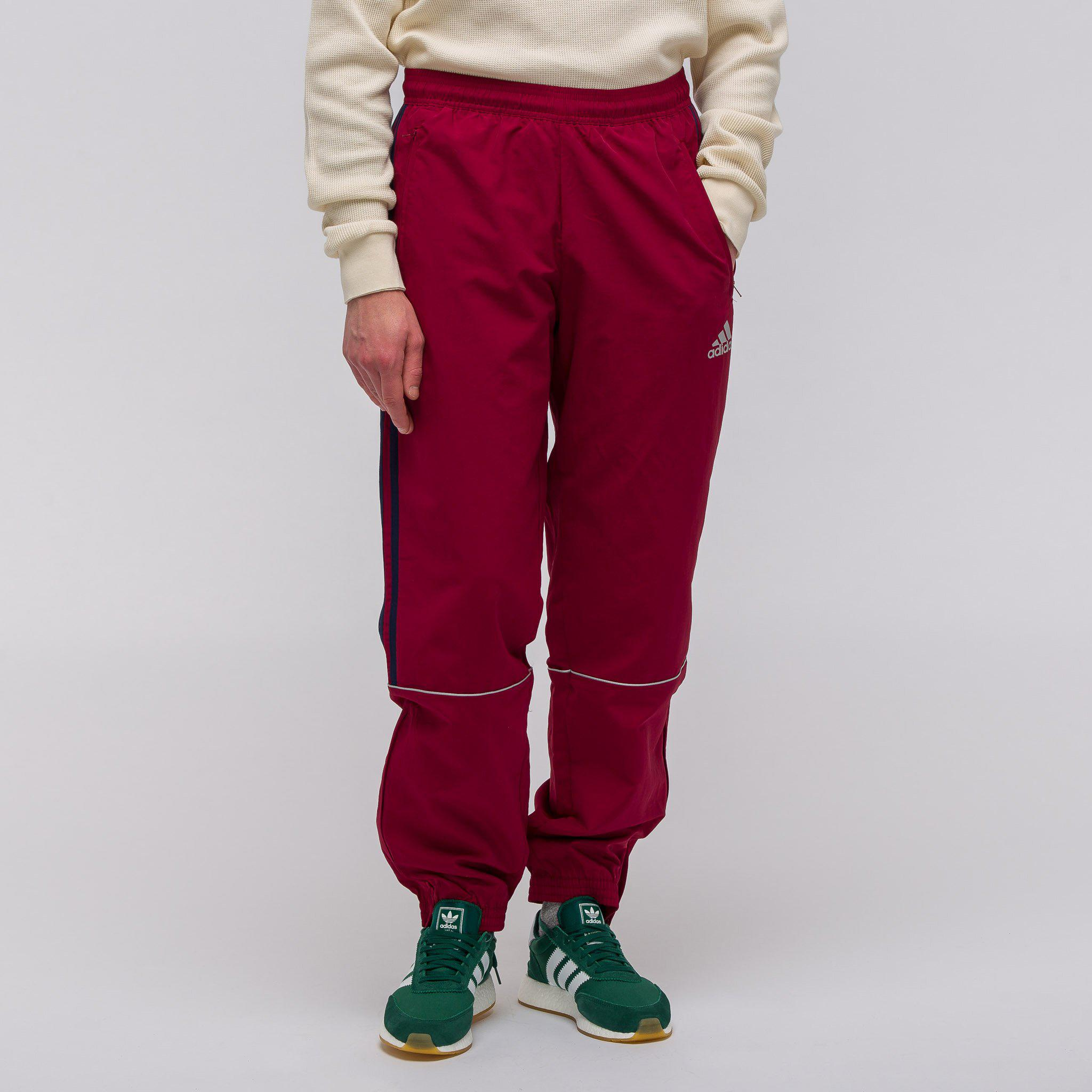 sports shoes f849e 8de84 Gosha Rubchinskiy - Red X Adidas Track Pant In Burgundy for Men - Lyst