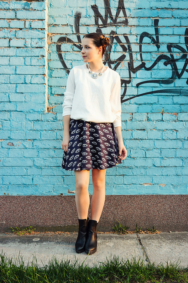 iemmafashion skirt shirt shoes jewels