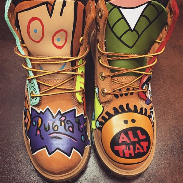 Shoes Boots 90s Style All That Timberlands Boots 90 S