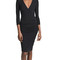 James perse skinny wrap tuck dress