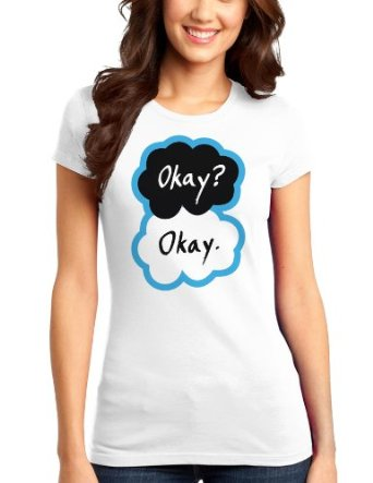 Amazon.com: okay? okay. womens juniors t